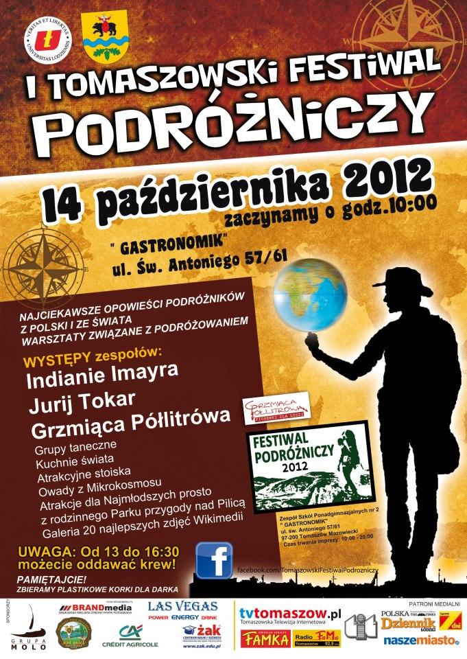I Tomaszowski Festiwal Podróżniczy