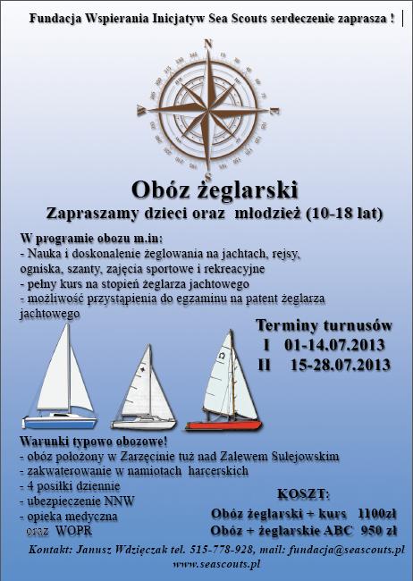 Obó Żeglarski – Zarzecin 2013