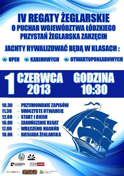IV Regaty żęglarskie o Puchar Województwa Łódzkiego