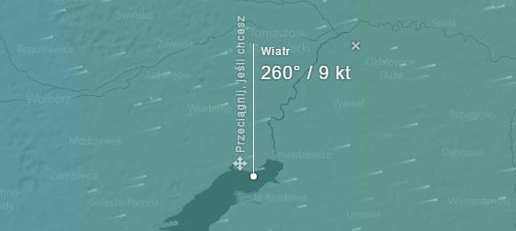 Prognoza pogody i wiatru dla Zalewu Sulejowskiego